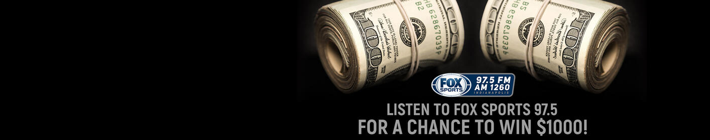 Listen To Win $1000 Every Hour Weekdays on FOX Sports 97.5