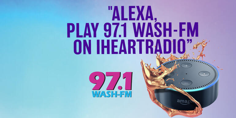 Listen to 97.1 WASH-FM Live - Washington's Variety - 80s, 90s & Today!   iHeartRadio