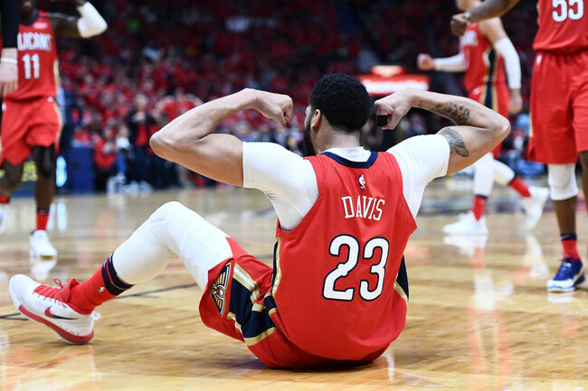 Anthony Davis Pelicans Getty Images