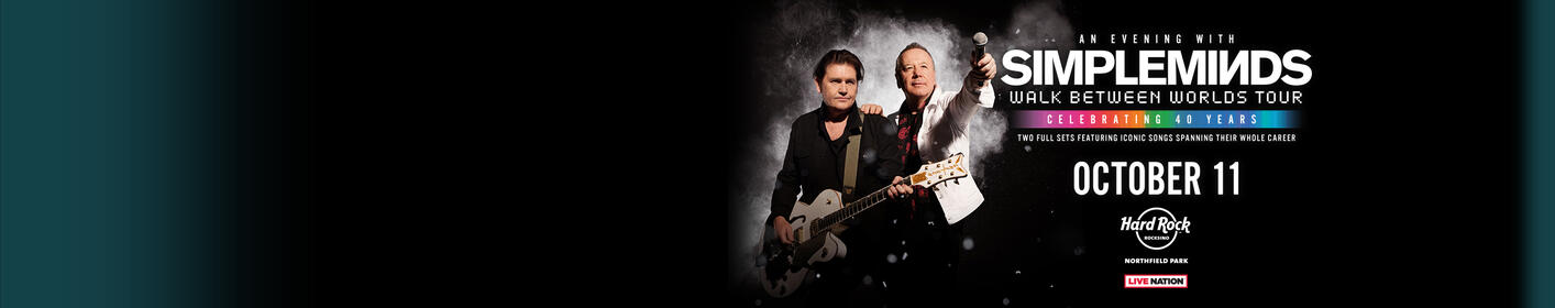 Purchase presale tickets to see Simple Minds