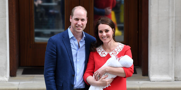 Kate Middleton Debuts Newborn Son! See the Pics