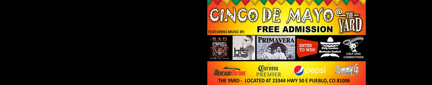 Join Us For Cinco De Mayo At The Yard!