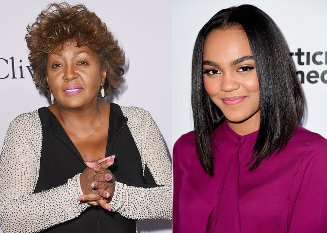 Anita Baker & China Ann McClain - Getty Images