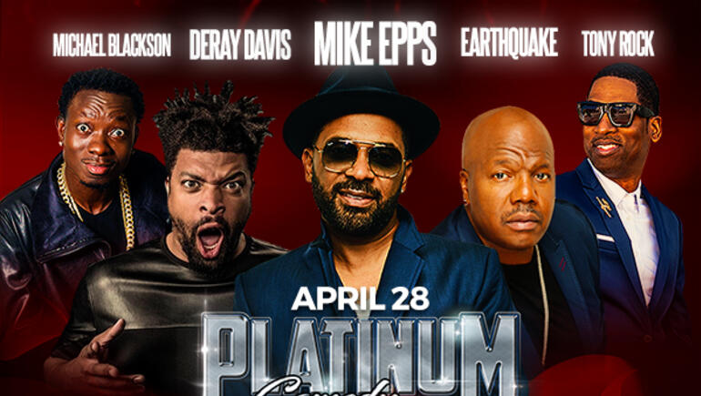 Win a pair of tickets to the Platinum Comedy Tour!