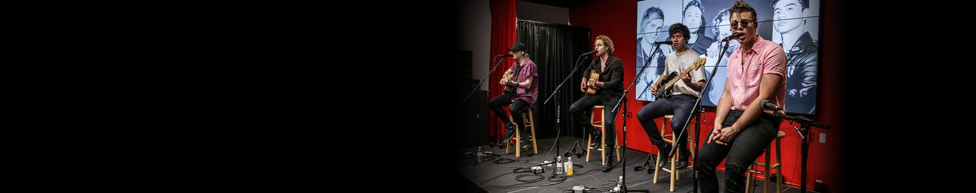 5 Seconds Of Summer Perform At 104.7 KISS FM! See The Photos!