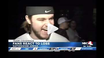 The Morning Freak Show - Blue Jackets Fan Ok Being Eliminated From Playoffs