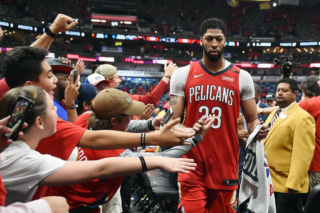 Anthony Davis Pelicans Getty