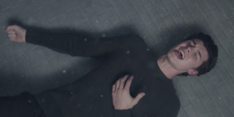 Shawn Mendes Braves The Elements For 'In My Blood' Music Video