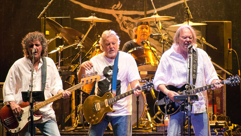 Neil Young Announces Crazy Horse Reunion, Says There Will Be No Rehearsal