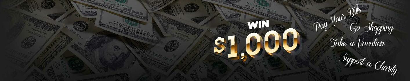 Listen for Your Chance to Win $1,000 Every Hour >
