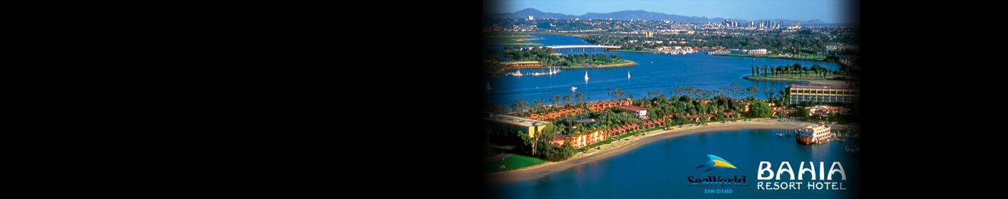 Enter to win a two night stay at the Bahia Resort and Hotel PLUS tickets to SeaWorld®