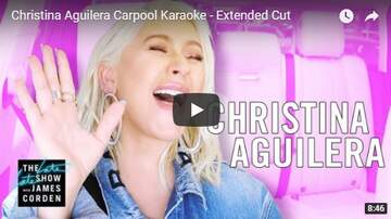 Trey - Christina Aguilera Carpool Karaoke