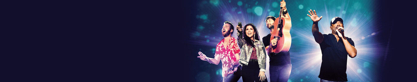 Get tickets to see Lady Antebellum with Darius Rucker, on sale Friday @ 10am