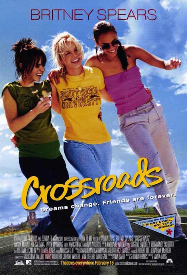 Britney Spears 'Crossroads' Movie Cover