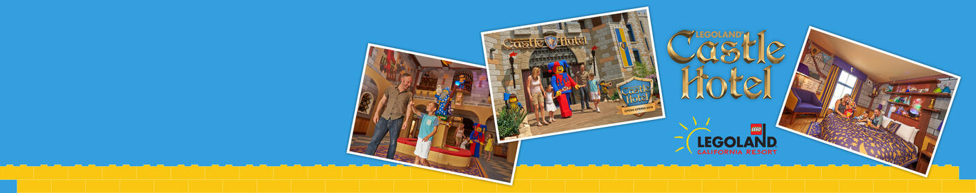 Win Your Way To LEGOLAND® Castle Hotel!