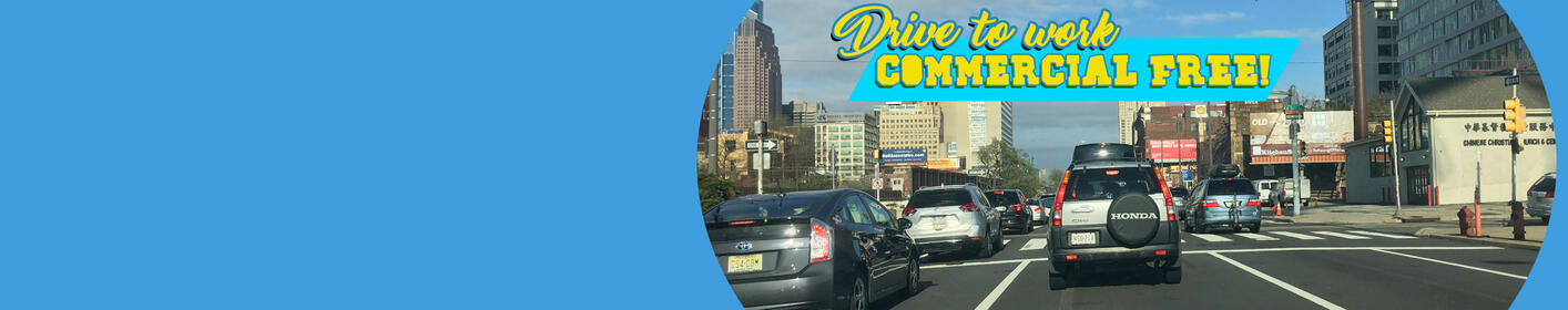 Listen to the 104 Minute Commercial Free Commute w/Johnny weekdays starting @7:35