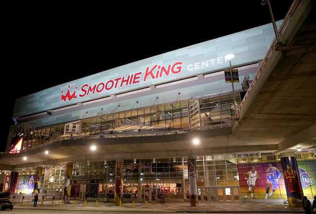 Smoothie King Center Getty Images