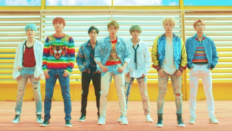 """BTS' """"DNA"""" Is Now The Most-Viewed Video By a K-Pop Group On YouTube"""