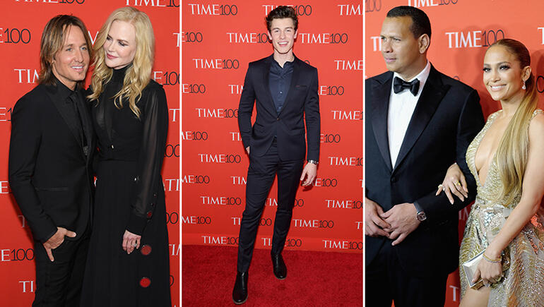 2018 TIME 100 Gala: Jennifer Lopez, Shawn Mendes & More Stars