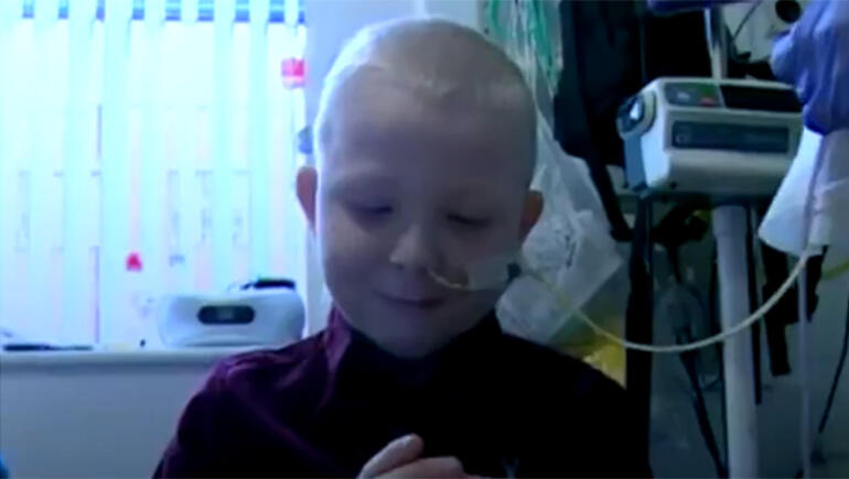 "Seven-Year-Old ""Super Human"" Recovering From Five-Organ Transplant Surgery"