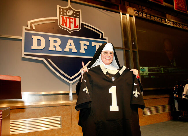 Saints NFL Draft Getty