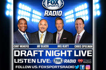 Jay Glazer, Joel Klatt, Chris Spielman, & Curt Menefee will come together to bring you up to the minute coverage of the 1ST Round of the NFL Draft. (Details Inside)