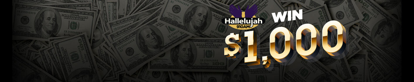 Here's how you can win $1,000 by listening to WZMG!
