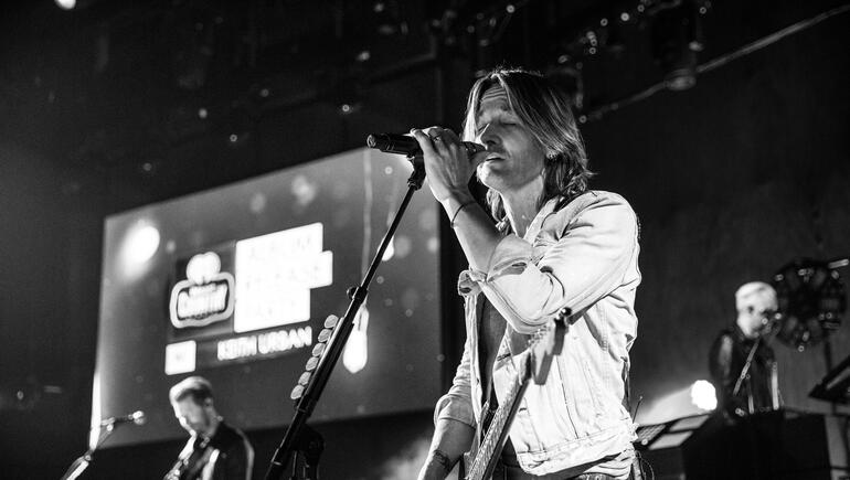 "Keith Urban Debuts ""Graffiti U,"" Gets Candid During Album Release Party"