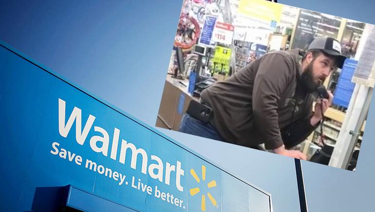Angry Walmart Customer Gets On Intercom