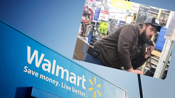 Weird, Odd and Bizarre News - Angry Walmart Customer Gets On Intercom