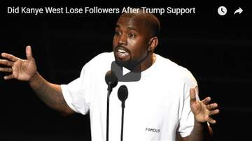 Trey - Did Kanye Lose 9 Million Twitter Followers After Trump Tweet?!