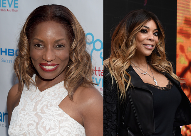 Stephanie Mills & Wendy Williams - Getty Images Grid