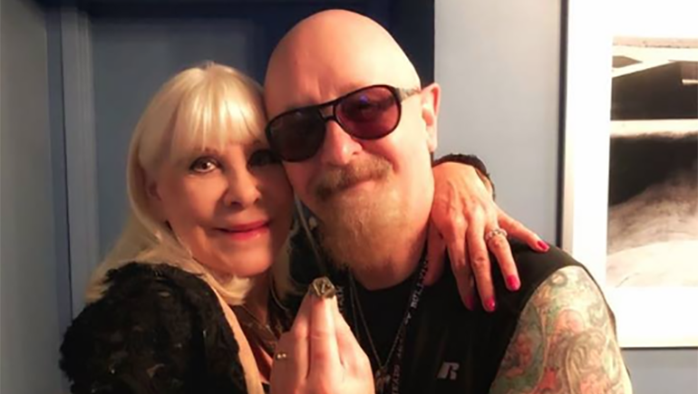 Wendy Dio Gave One of Ronnie James Dio's Rings to Rob Halford