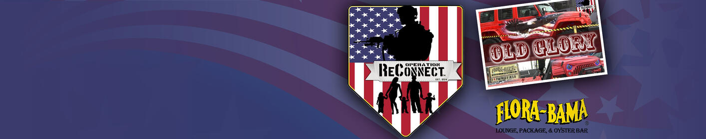 "Operation ReConnect. Fully-Customized ""Old Glory"" Jeep Giveaway"
