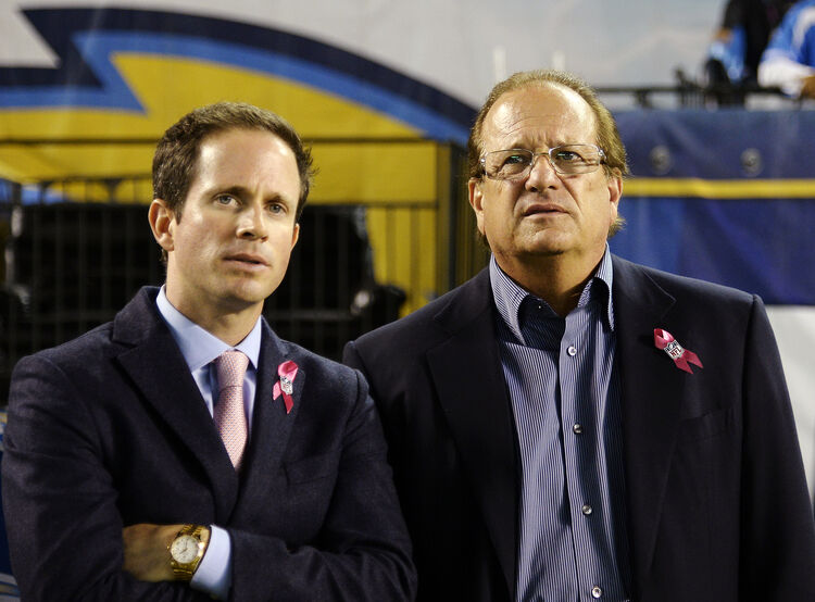 Chargers President of Football Operations, John Spanos