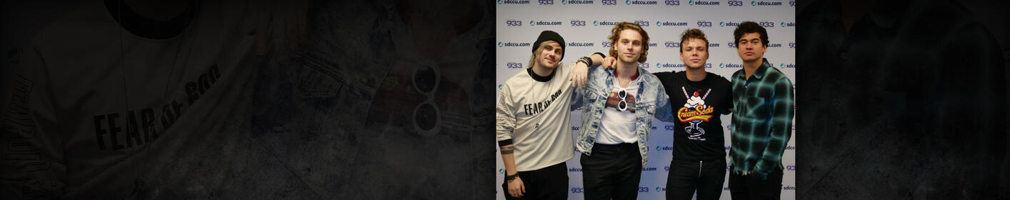5 Seconds of Summer at Channel 933