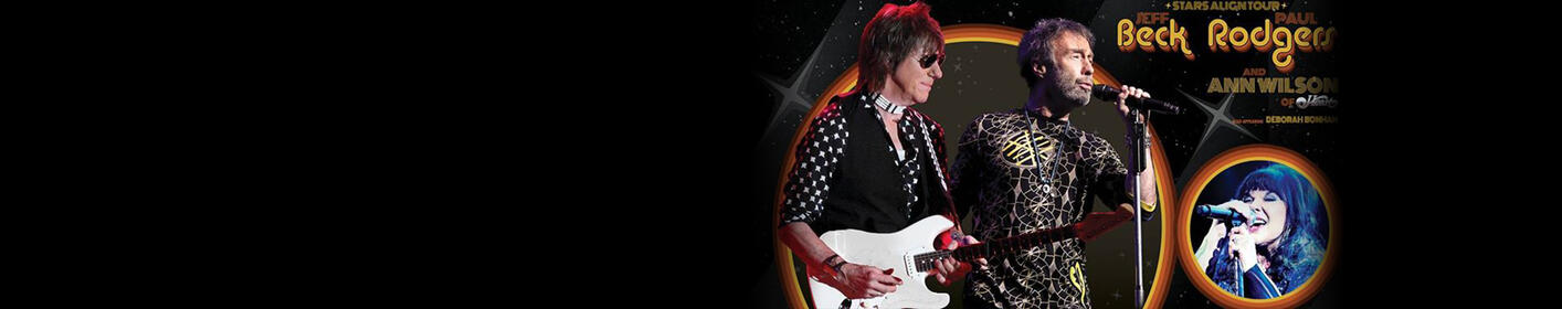 Listen To Win Tickets To See Jeff Beck & Paul Rodgers + Meet & Greet With Ann Wilson Of Heart This Week At 5:50pm With Jeff K!