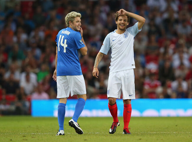 Louis Tomlinson and Niall Horan (Getty)