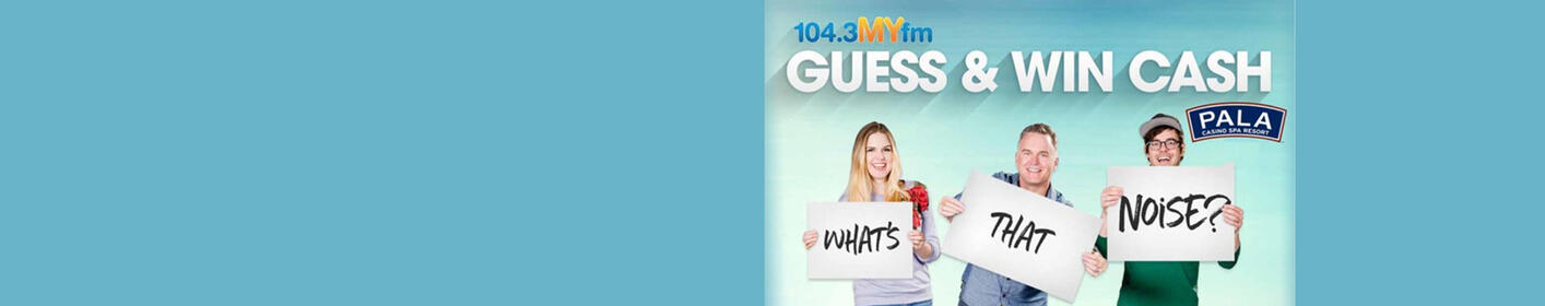 Listen to What's That Noise sound #2 for your chance to win over $50,000!