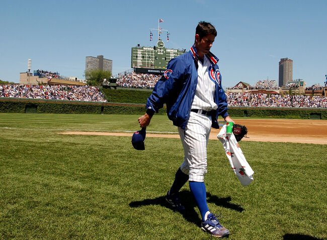 Mark Prior With The Chicago Cubs