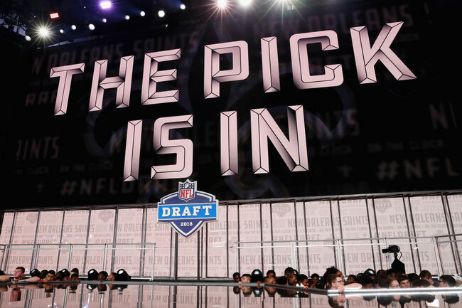 NFL Draft Saints Getty
