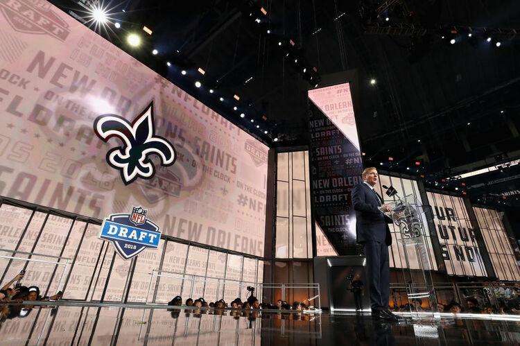NFL Draft Saints Getty
