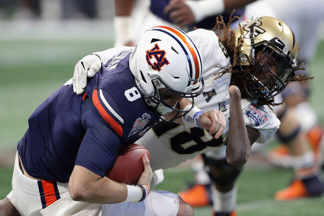 Chick-fil-A Peach Bowl - Auburn v Central Florida