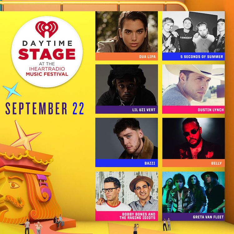 Daytime Stage at the iHeartRadio Music Festival