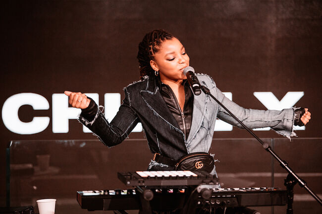 Chloe x Halle perform live on the Honda Stage