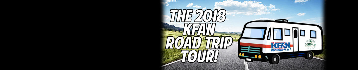 Come see KFAN live at a location near you! Click here for more info...