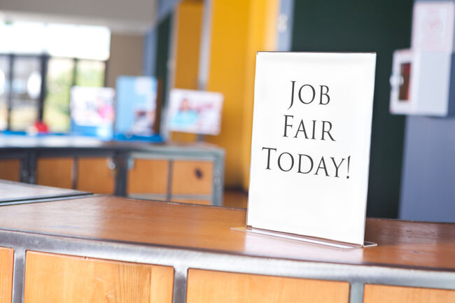 Job Fair Getty RF