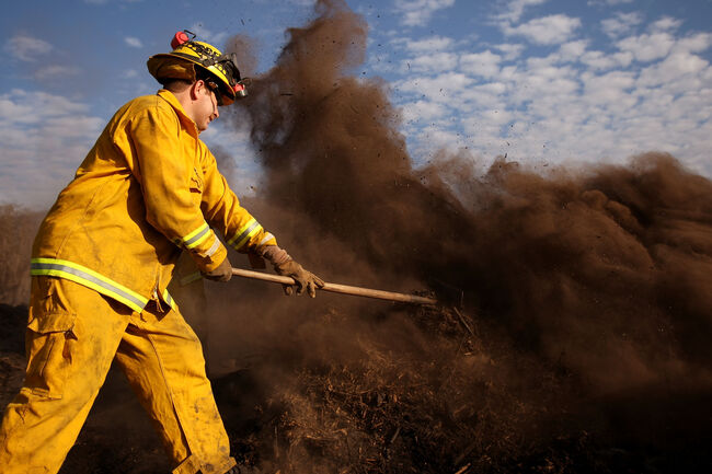 Firefighter - Getty Images