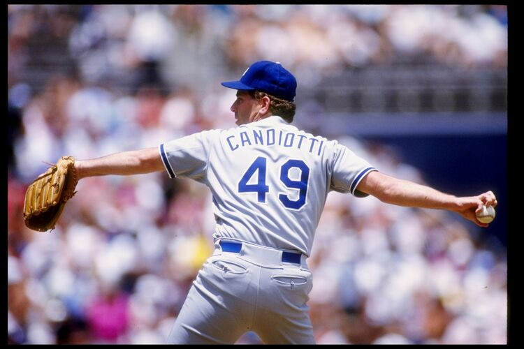 Tom Candiotti With The Dodgers