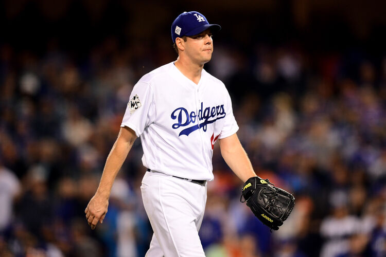 Dodgers Starter Rich Hill